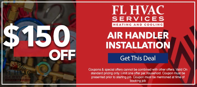 discount on air handler installation services in Ocala, FL