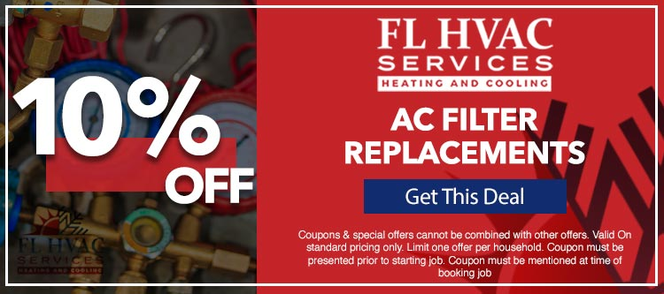 discount on ac filter replacements in Ocala, FL
