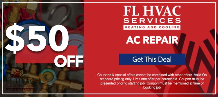 discount on air conditioner repair services in Ocala, FL