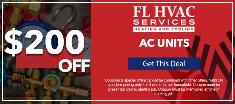 discount on air conditioner units in Ocala, FL