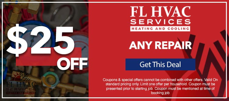 discount on any repair services in Ocala, FL