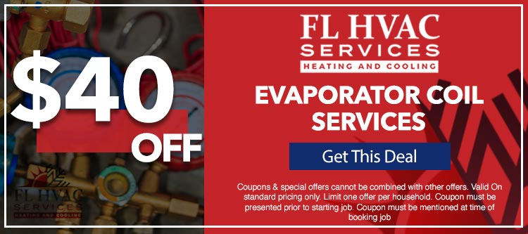 discount on evaporator coil services in Ocala, FL