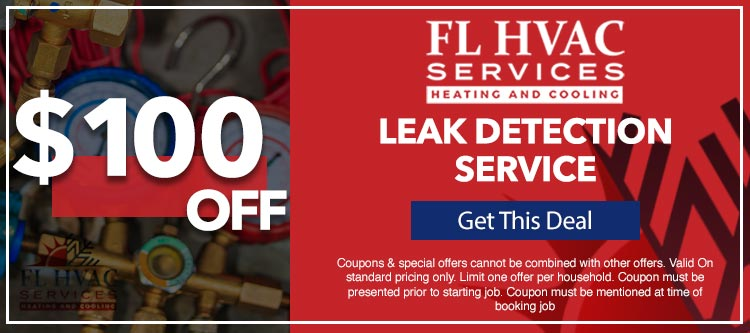 discount on leak detection service in Ocala, FL